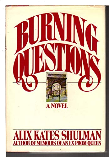 9780394400211: Burning Questions