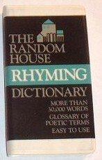 9780394400624: The Random House Rhyming Dictionary