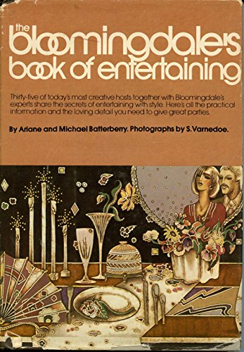 Bloomingdale's book of entertaining: Batterberry, Ariane Ruskin