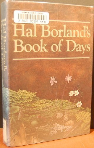 9780394401874: Hal Borland's Book of Days