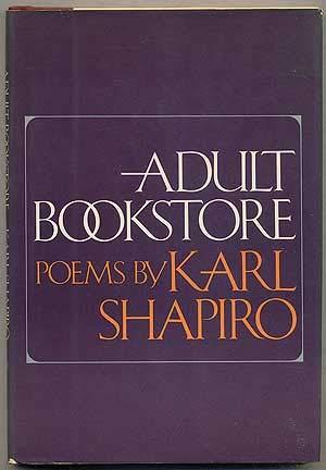 Adult Book Store (SIGNED): Shapiro, Karl