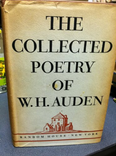 9780394403168: The Collected Poetry of W. H. Auden.