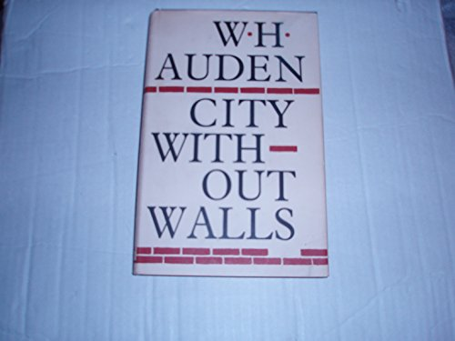9780394403229: City Without Walls and Other Poems