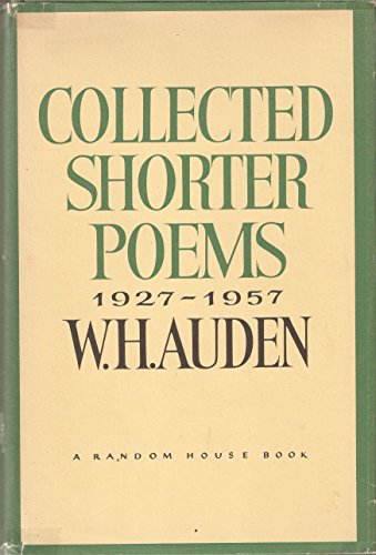 9780394403335: Collected Shorter Poems, 1927-1957