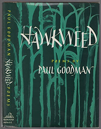 9780394403595: Hawkweed: Poems