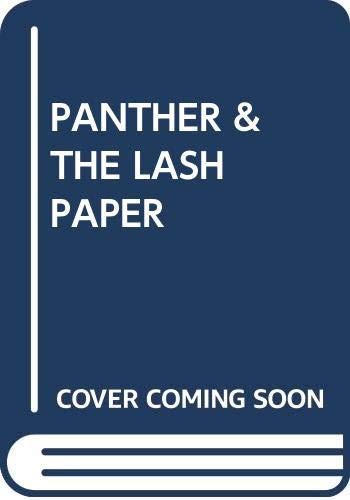 9780394404196: Panther & the Lash Paper