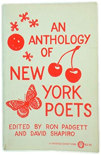 9780394404516: An Anthology of New York Poets