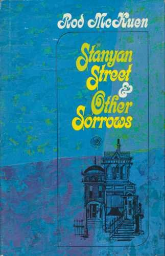 9780394404615: Stanyan Street & Other Sorrows
