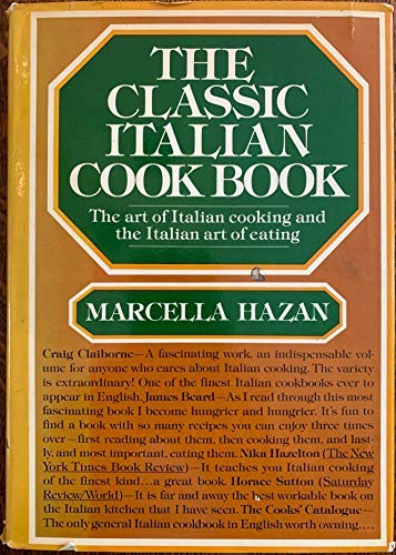 Classic Italian Cookbook The Art Of Italian: Marcella Hazan