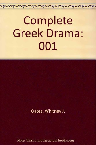 9780394405353: 001: Complete Greek Drama
