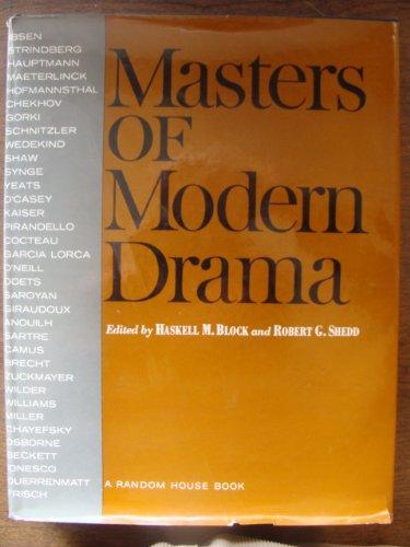 Masters of Modern Drama: H. M. Block