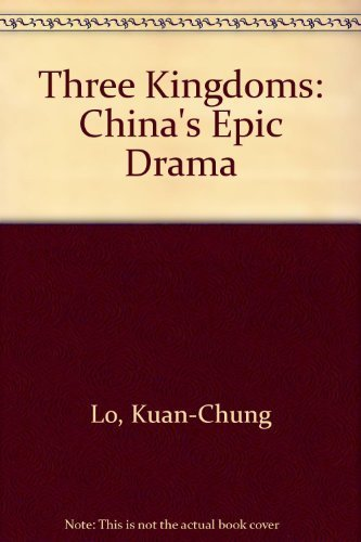 9780394407227: Three Kingdoms: China's Epic Drama