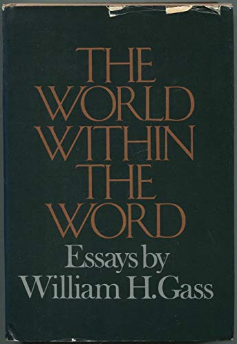 9780394408095: The world within the word: Essays