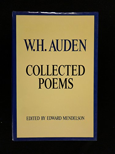 9780394408958: W. H. Auden Collected Poems