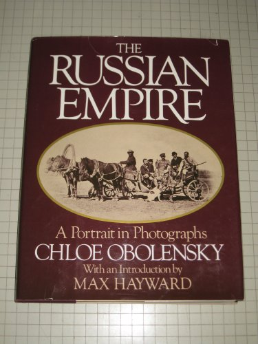 9780394410296: The Russian Empire: A portrait in photographs