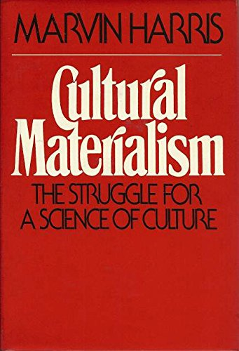 9780394412405: Cultural Materialism: The Struggle for a Science of Culture