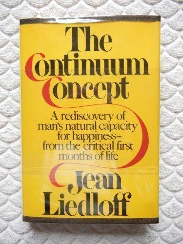 9780394413044: The Continuum Concept