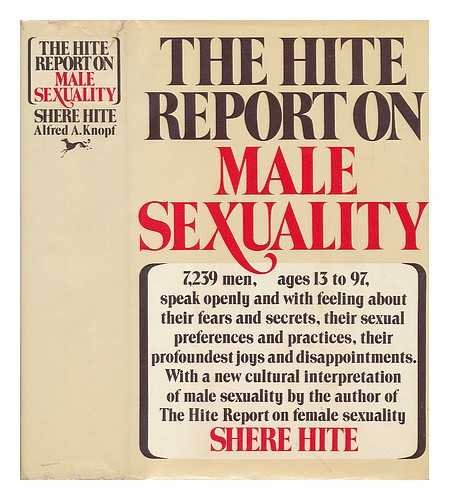9780394413921: The Hite Report on Male Sexuality