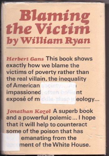 9780394417264: Blaming the Victim