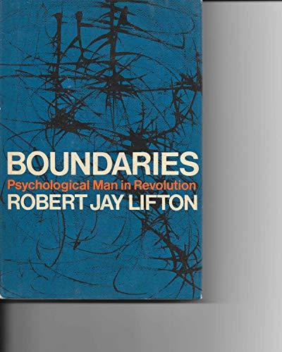 9780394417547: Boundaries;: Psychological man in revolution