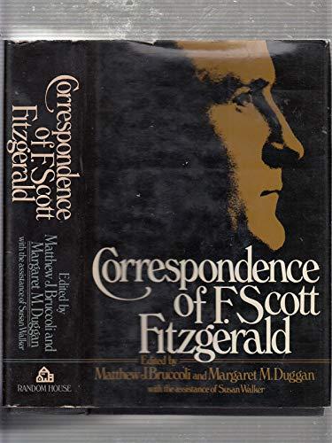 Correspondence of F. Scott Fitzgerald: Fitzgerald, F. Scott