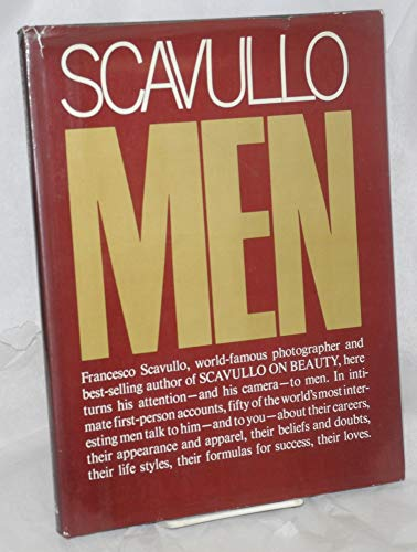 9780394419343: Scavullo on Men