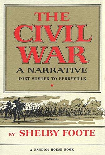 9780394419480: The Civil War: A Narrative: Fort Sumter to Perryville (Vol. I)