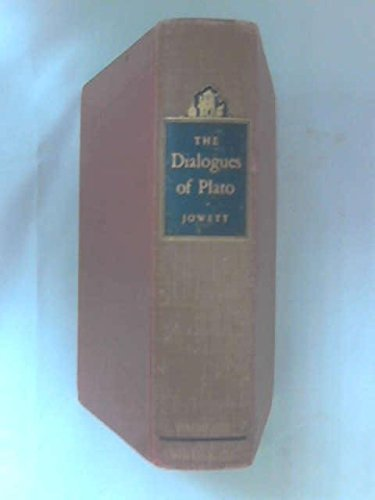 The Dialogues of Plato Translated into English with Analyses and Introductions : Volume II: Plato; ...
