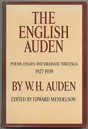 9780394420493: The English Auden