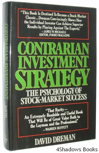 9780394423906: Contrarian Investment Strategy