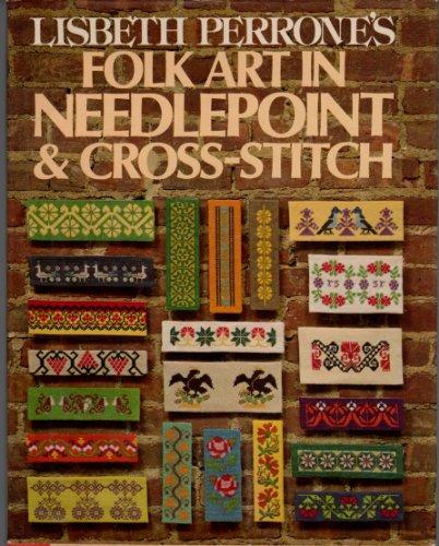 9780394424019: FOLK ART IN NEEDLEPOINT & CROSS-STITCH
