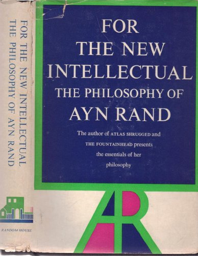 9780394425269: For The New Intellectual