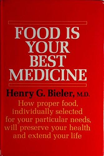 9780394425337: Food is your best medicine