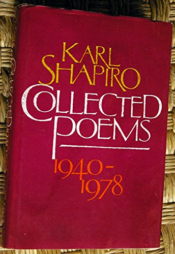 9780394425436: Collected poems 1940-1978