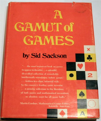 9780394426167: A gamut of games