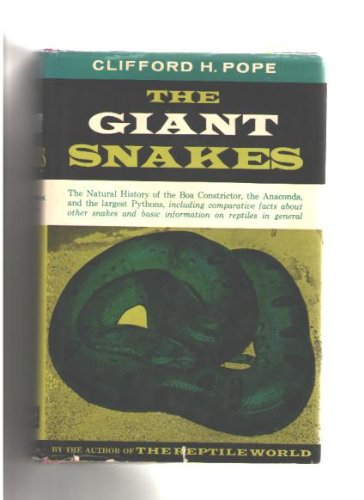 9780394426334: Giant Snakes