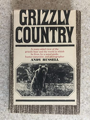9780394427362: GRIZZLY COUNTRY