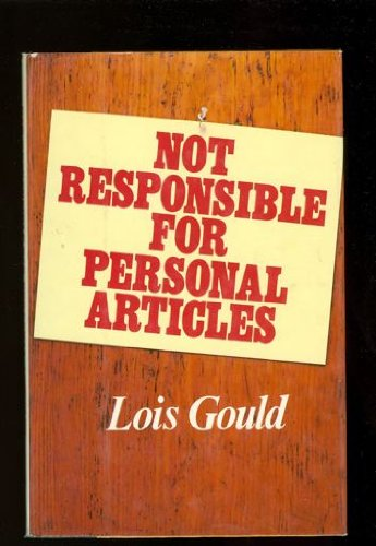 9780394427805: Not Responsible For Personal Articles