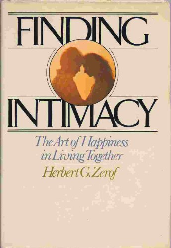 9780394428246: Finding intimacy: The art of happiness in living together