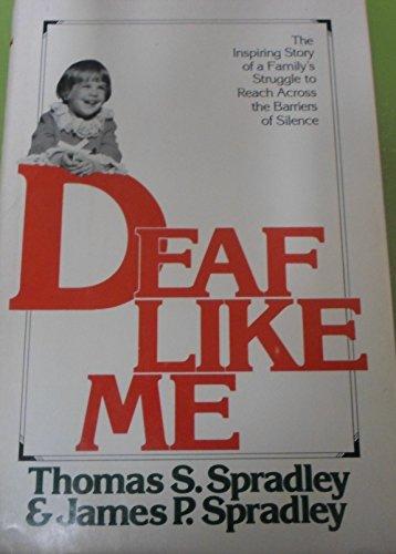 9780394428253: Deaf Like ME