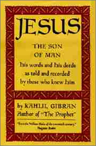 9780394431246: Jesus the Son of Man
