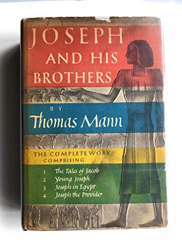9780394431321: Joseph and His Brothers (Omnibus Vol Includes : Joseph and His Brothers, Young Joseph, Joseph in Egypt, and Joseph the Provider)