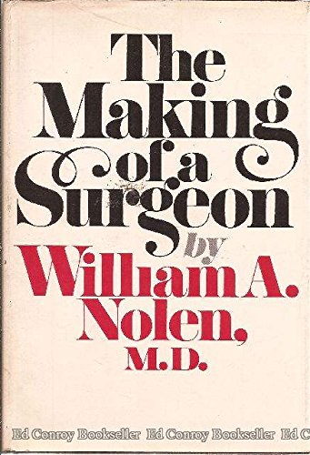 9780394434476: The Making of a Surgeon