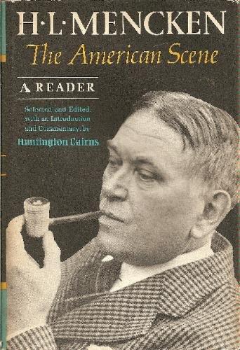9780394435947: H. L. Mencken. The American Scene. A Reader