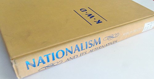 9780394437637: Nationalism and its alternatives