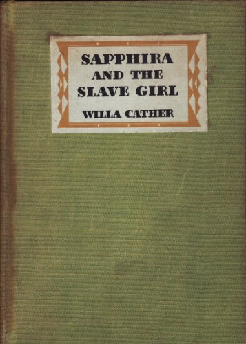 9780394443713: Sapphira and the Slave Girl