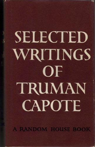 9780394444673: Selected Writings Of Truman Capote