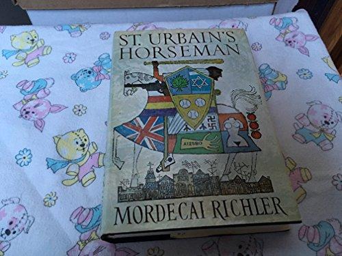 9780394444734: St. Urbain's Horseman: A Novel