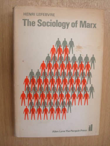 9780394446035: The Sociology of Marx.