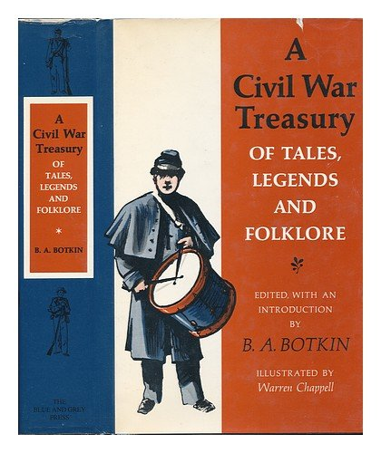 9780394449432: A Civil War Treasury of Tales, Legends and Folklore